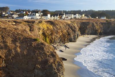 Coastal Town of Mendocino, California, United States of America, North America-Miles-Photographic Print