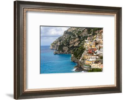 Coastal  Town of Positano-George Oze-Framed Photographic Print