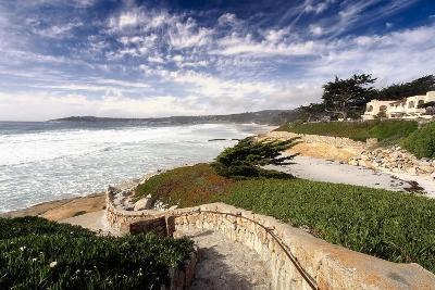 Coastal View, Carmel,California-George Oze-Photographic Print