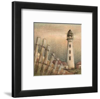 Coastal View II-Ethan Harper-Framed Art Print