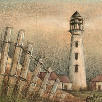 Coastal View II-Ethan Harper-Art Print