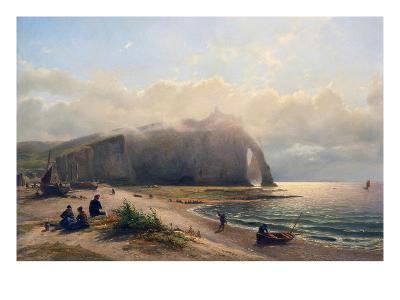 Coastal View-Antoine van Deventer-Art Print