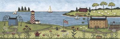 Coastal View-Robin Betterley-Giclee Print