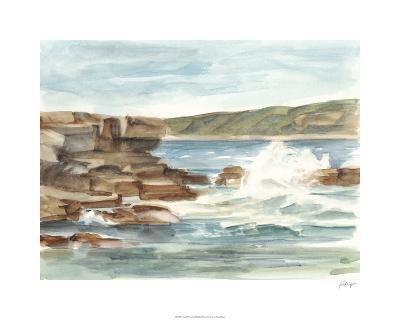 Coastal Watercolor III-Ethan Harper-Limited Edition