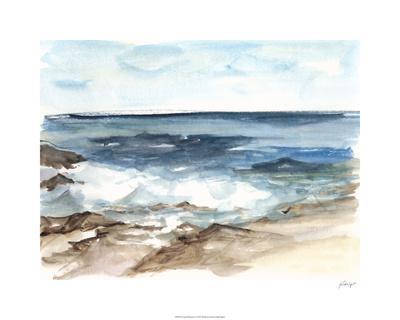 Coastal Watercolor V-Ethan Harper-Limited Edition