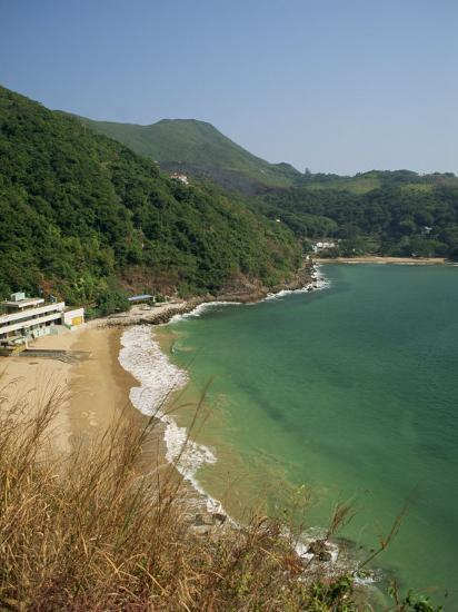 Coastline and Beach at Clearwater Bay in the New Territories, Hong Kong, China Asia-Fraser Hall-Photographic Print