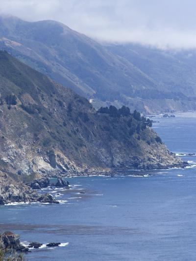Coastline and Highway 1, Big Sur, California, United States of America, North America-Ethel Davies-Photographic Print