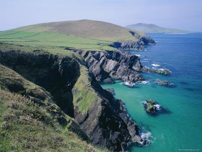 Coastline at Slea Head, Dingle Peninsula, County Kerry, Munster, Republic of Ireland (Eire), Europe-Roy Rainford-Photographic Print