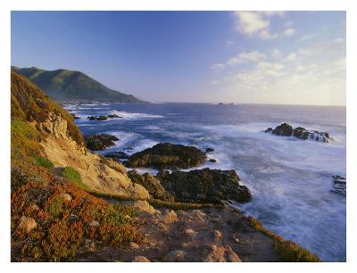 Coastline, Big Sur, Garrapata State Beach, California-Tim Fitzharris-Art Print