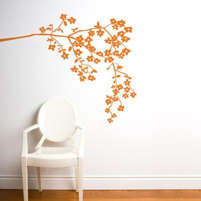 Coastline Blossoms Wall Decal--Wall Decal