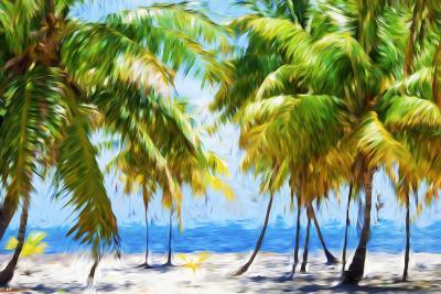 Coastline II - In the Style of Oil Painting-Philippe Hugonnard-Giclee Print