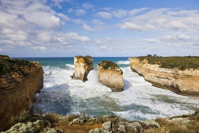 Coastline, Loch Ard Gorge, Elephant Rock, Muttonbird Is, Great Ocean Road, Australia-Martin Zwick-Photographic Print