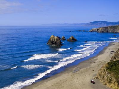 Coastline Near Crescent City, Northern California, United States of America, North America-Michael DeFreitas-Photographic Print