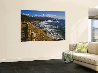 Coastline North of Cannon Beach, Ecola State Park, Oregon, USA-Joe Restuccia III-Wall Mural