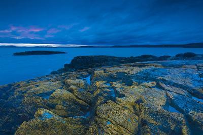 Coastline of the San Juan Islands-Michael Melford-Photographic Print