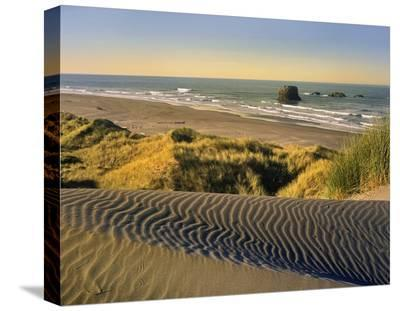 Coastline, Pistol River Beach, Oregon-Tim Fitzharris-Stretched Canvas Print