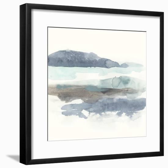 Coastline Sketch I-June Vess-Framed Art Print