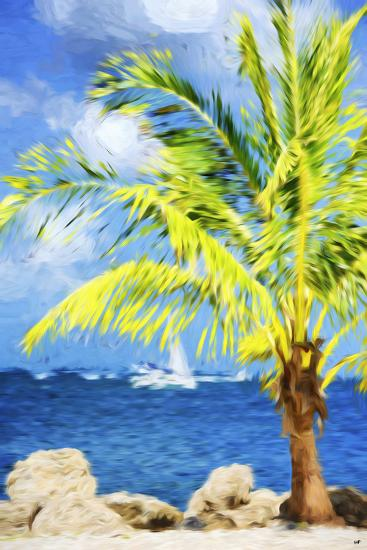 Coastline Summer I - In the Style of Oil Painting-Philippe Hugonnard-Giclee Print