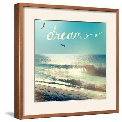 Coastline Waves-Sue Schlabach-Framed Photographic Print