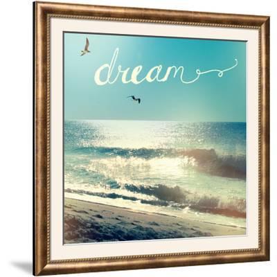 Coastline Waves-Sue Schlabach-Framed Photographic Print