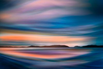 Coastlines (In Blue)-Ursula Abresch-Photographic Print
