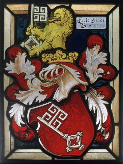 Coat of Arms, 16th Century--Giclee Print