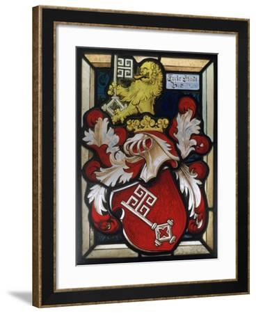 Coat of Arms, 16th Century--Framed Giclee Print