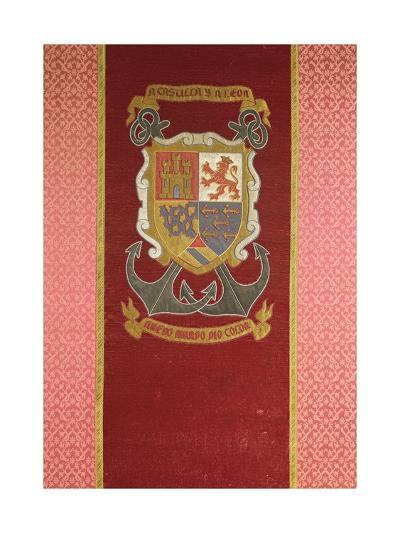 Coat of Arms of Christopher Columbus--Giclee Print