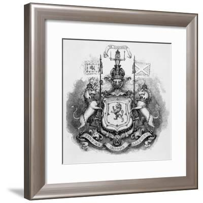 Coat-Of-Arms of Scotland--Framed Photographic Print