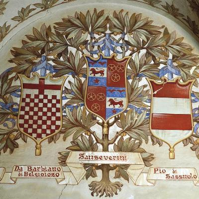 Coats of Arms of Italian Families--Giclee Print