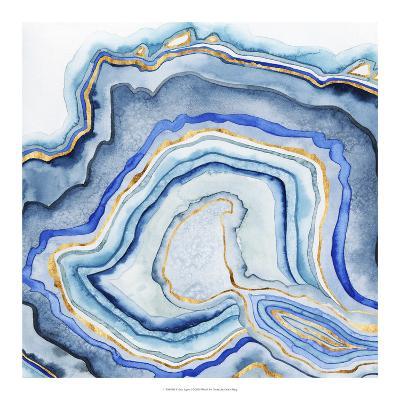 Cobalt Agate I-Grace Popp-Art Print