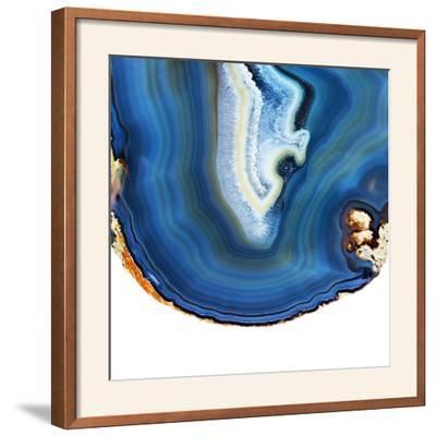 Cobalt Blue Agate A-GI ArtLab-Framed Photographic Print