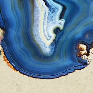 Cobalt Blue Agate B