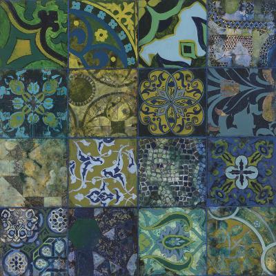 Cobalt Mosaic I-Douglas-Giclee Print
