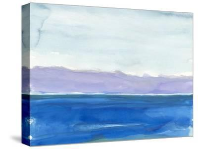 Cobalt Sea-Rob Delamater-Stretched Canvas Print