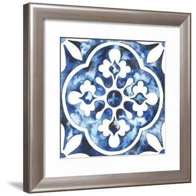 Cobalt Tile I--Framed Art Print