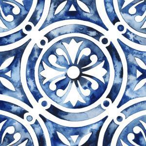 Cobalt Tile IV