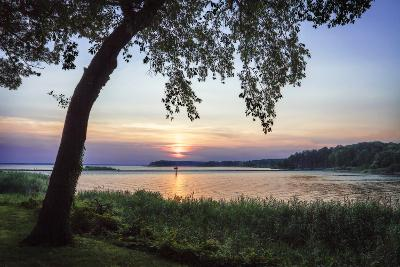 Cobb Island Sunset I-Alan Hausenflock-Photographic Print