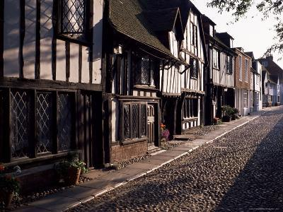 Cobbled Street, Rye, East Sussex, Sussex, England, United Kingdom-David Hughes-Photographic Print