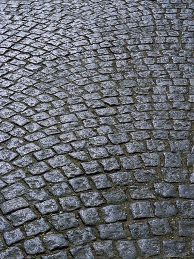Cobblestones on Street in Aeroskobing, Island of Aero, Denmark, Scandinavia, Europe-Robert Harding-Photographic Print