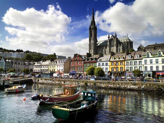 Cobh Harbour, County Cork, Ireland-Chris Hill-Photographic Print