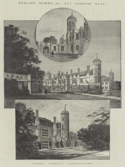 Cobham Hall-Charles Auguste Loye-Giclee Print