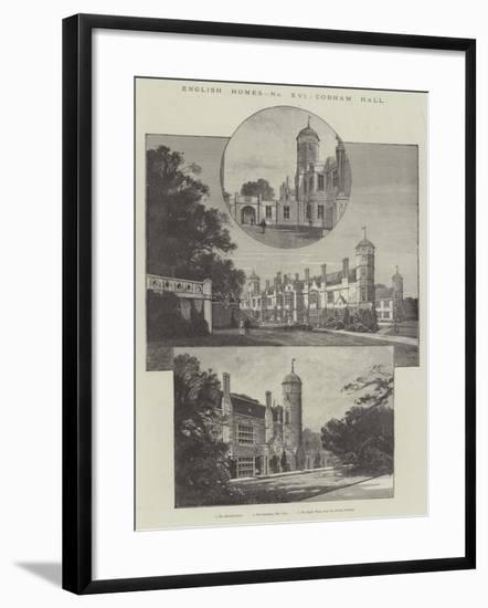 Cobham Hall-Charles Auguste Loye-Framed Giclee Print
