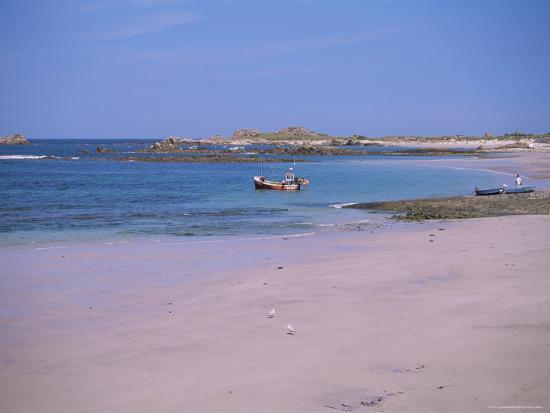 Cobo Bay, Guernsey, Channel Islands, United Kingdom-J Lightfoot-Photographic Print