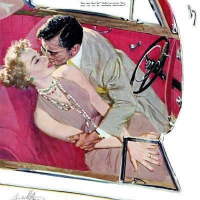 """Second Class Marriage  - Saturday Evening Post """"Leading Ladies"""", July 23, 1955 pg.23"""