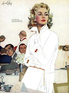 """Too Young for Trouble - Saturday Evening Post """"Leading Ladies"""", May 7, 1960 pg.42 by Coby Whitmore"""