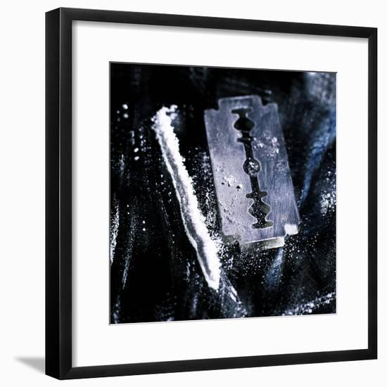 Cocaine-Kevin Curtis-Framed Premium Photographic Print