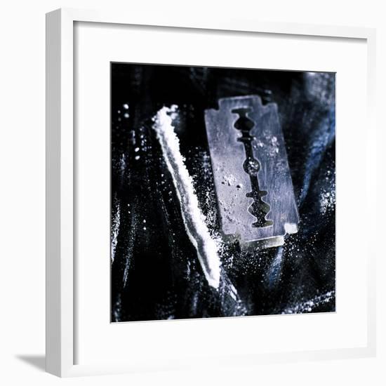 Cocaine-Kevin Curtis-Framed Premium Photographic Print