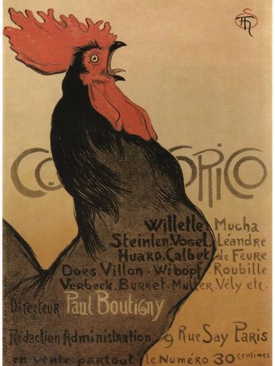 Coccorico-Theophile Alexandre Steinlen-Art Print