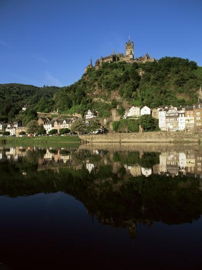 Cochem, River Mosel, Rhineland-Pfalz, Germany, Europe-Oliviero Olivieri-Photographic Print